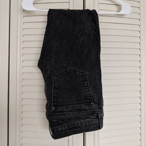 JCrew Toothpick Size 27 Ankle Charcoal Jeans